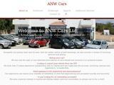 ANW Cars Ltd. Website Screenshot