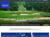 Aristo Developers Website Screenshot