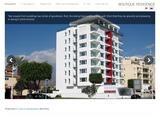 Boutique Residence Website Screenshot