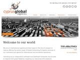 Cyprus Global Logistics Website Screenshot