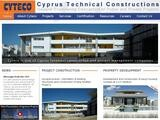 Cyteco Contractors Website Screenshot