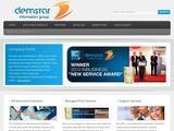 Demstar Information Website Screenshot