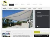 InShade Shading Systems Website Screenshot
