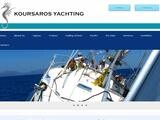 Kousaros Yachting Website Screenshot