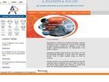A. POLEMITIS & SON LTD Website Screenshot