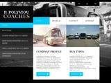 Polyviou Coaches Website Screenshot