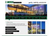 Shaelis Developers Website Screenshot
