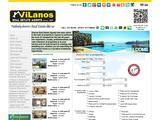 Vilanos Real Estate Agents Ltd Website Screenshot