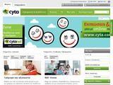 CYTANET Website Screenshot