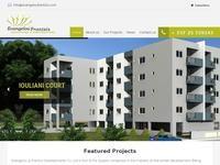 Evangelou & Frantzis Developers Website Screenshot