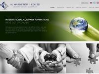 M. Marnerou & Co Website Screenshot