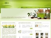 Bioexcellia Natural Cosmetics Website Screenshot