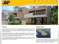 Joannou and Paraskevaides Website Screenshot