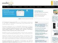 A.T Multitech Website Screenshot