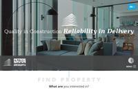 Petros Savva Constructions & Development Website Screenshot
