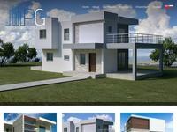 P.G Property and Construction Website Screenshot