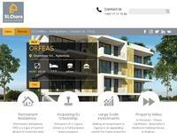 St. Chara Developers Website Screenshot