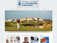 Xenophontos Associates Website Screenshot