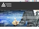 Alexandrou Corporate Services Website Screenshot