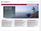 AMG Kapital Website Screenshot