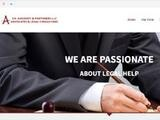Ch. Avgousti & Partners LLC Website Screenshot