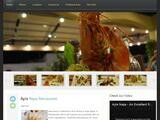 Valentinos Restaurant Website Screenshot