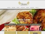 Dione Restaurant Website Screenshot