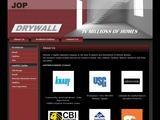 Drywall Website Screenshot