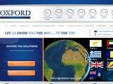 Oxford Tax Solutions Website Screenshot