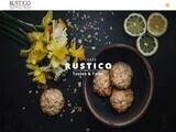 Rustico Tastes & Tales Website Screenshot