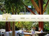 The Garden Website Screenshot