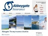 Abbeygate Insurance Website Screenshot