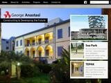 George Anastasi Website Screenshot