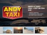Andys Taxi Website Screenshot