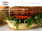 Artisan's Burgerbar Website Screenshot