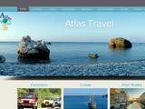 Atlas Travel & Tours Website Screenshot