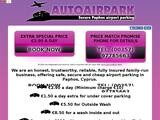 AutoAir Park Website Screenshot