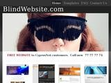 Blind Website Website Screenshot