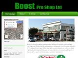Boost Pro Shop Website Screenshot