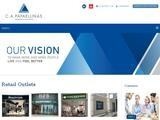 C A  Papaellinas Website Screenshot