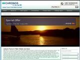 Chronos Travel Website Screenshot