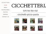 Cicchetteria Website Screenshot