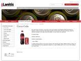Coca-Cola Cyprus Website Screenshot