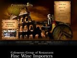 Colosseum Steakhouse & Italian Restaurant Website Screenshot