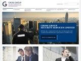 Crossgroup Security Services Website Screenshot