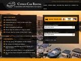 Andreas Petsas Rental Website Screenshot