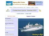 Regency Mini Cruises Website Screenshot
