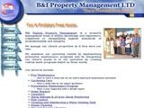 B&I Property Management Website Screenshot
