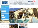 Cyprus Villages Traditional Houses Website Screenshot