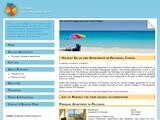 Protaras Villas & Apartments Website Screenshot